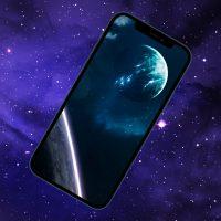 10 темных обоев iPhone с космосом