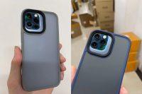 В Китае появились чехлы для iPhone 13 Pro, и у них огромный вырез для камеры