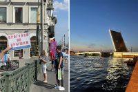 Съездил в Санкт-Петербург: жара +37, футбол, толпы