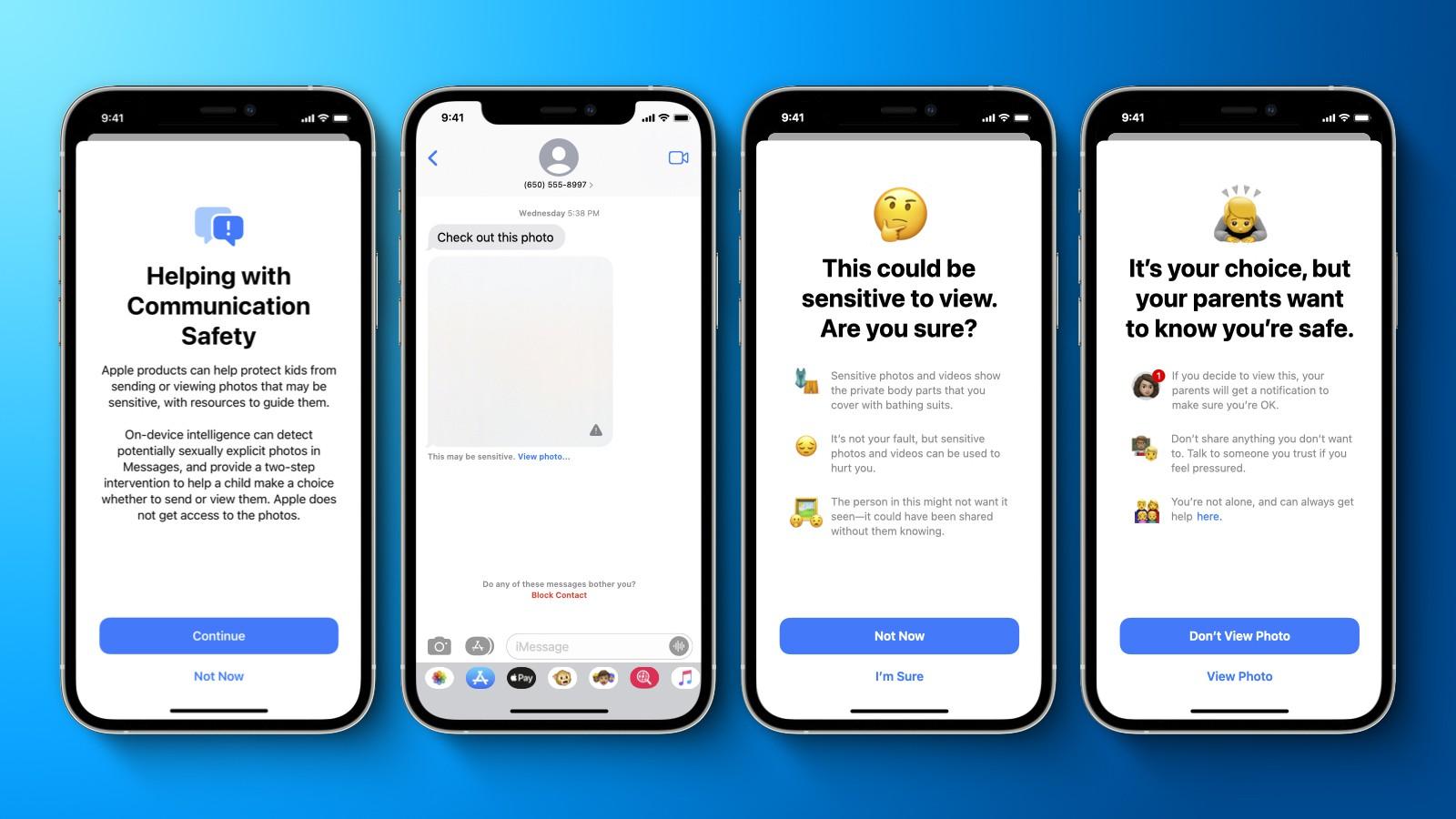 Apple представила новые функции iOS 15 для защиты детей. Например, поиск запрещённых фото на вашем iPhone