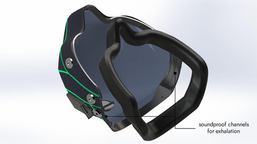 Новая маска для геймеров PHASMA заглушит даже громкие крики. Можно играть, не скрывая эмоций