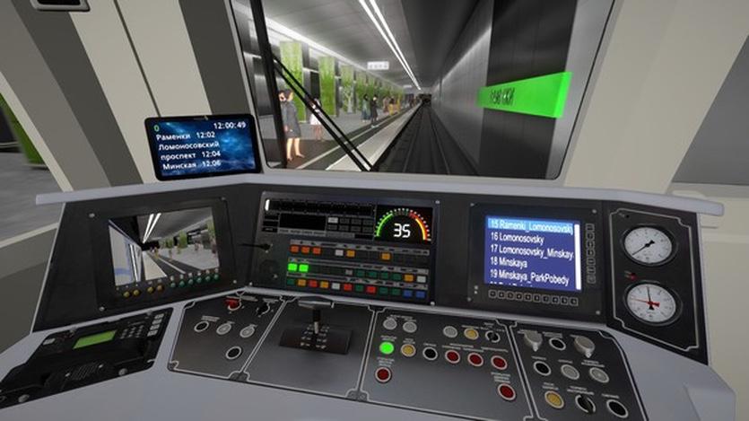 Российские разработчики выпустили игру Metro Simulator. В ней можно стать машинистом метро Москвы