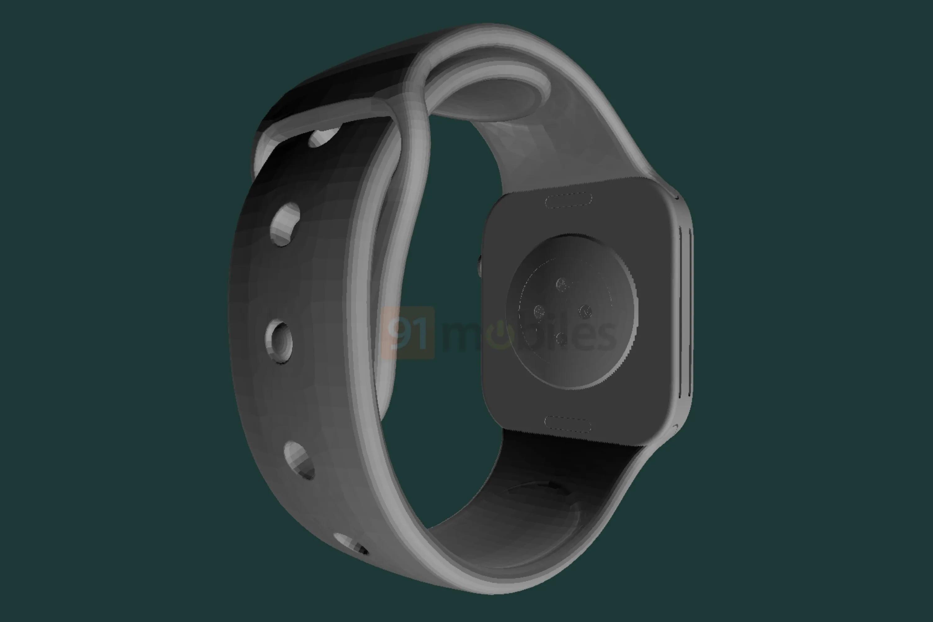 Появились первые чертежи Apple Watch Series 7 с новым дизайном и большим экраном