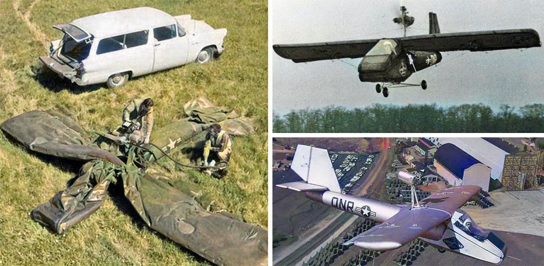 Американцы создали надувной самолет, который летал и помещался в багажник. Почему он оказался не нужен