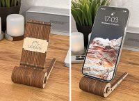 Собрал деревянную подставку Ugears для смартфона своими руками. А еще дракона (он двигается!)
