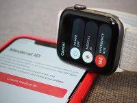 Как совершать экстренный вызов при помощи Apple Watch