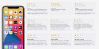 Apple разрешила оценивать встроенные приложения в App Store. Их рейтинги мгновенно рухнули