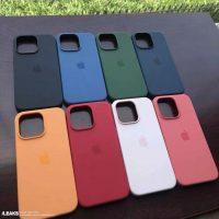 Появились первые фото фирменных чехлов для iPhone 13
