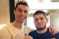 Роналду и Хабиб побились взглядами, потом обнялись. Инстаграм оценил
