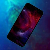 10 очень темных обоев iPhone с космосом