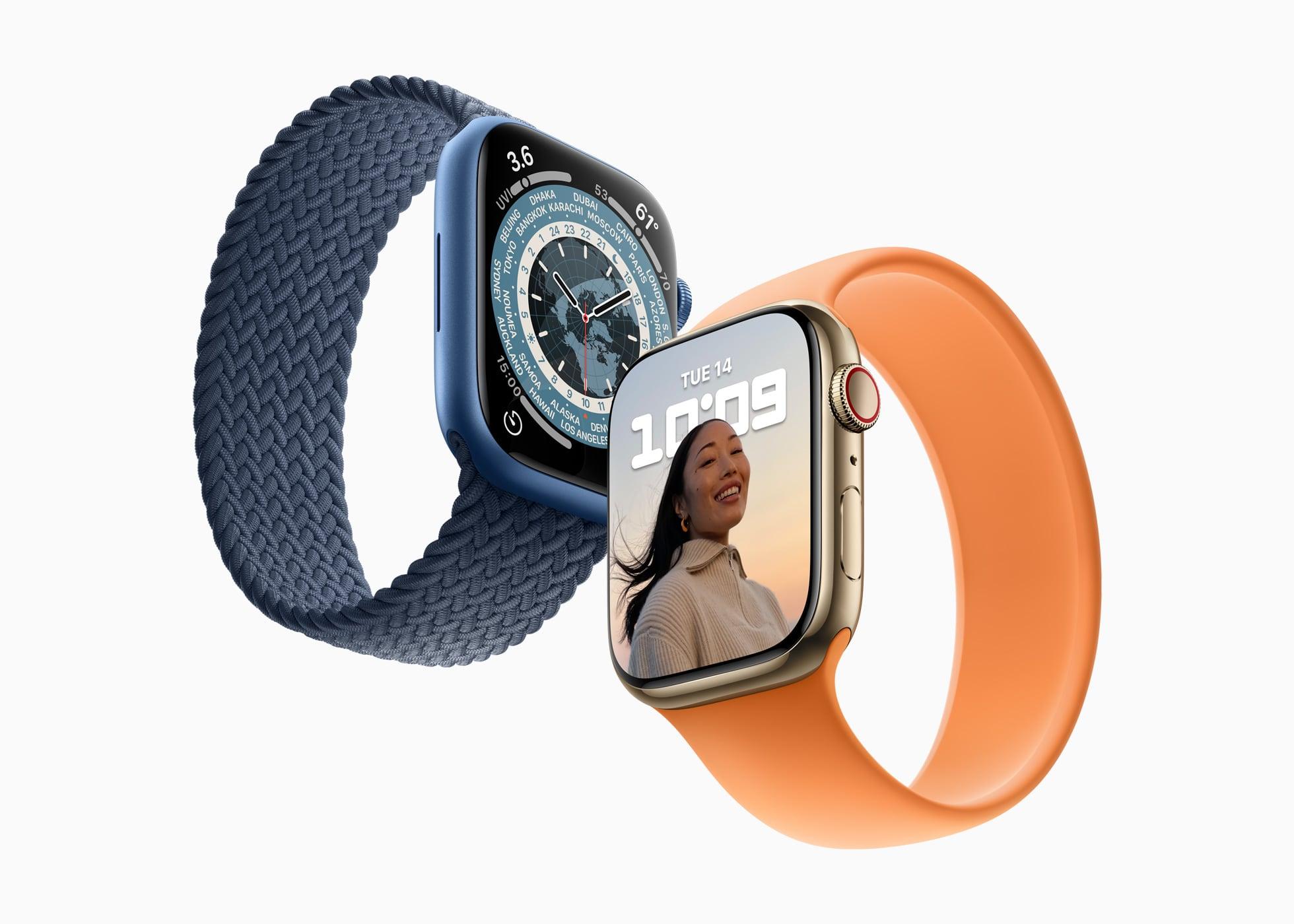 Apple Watch Series 7 поступят в продажу 15 октября. Предзаказ 8 октября