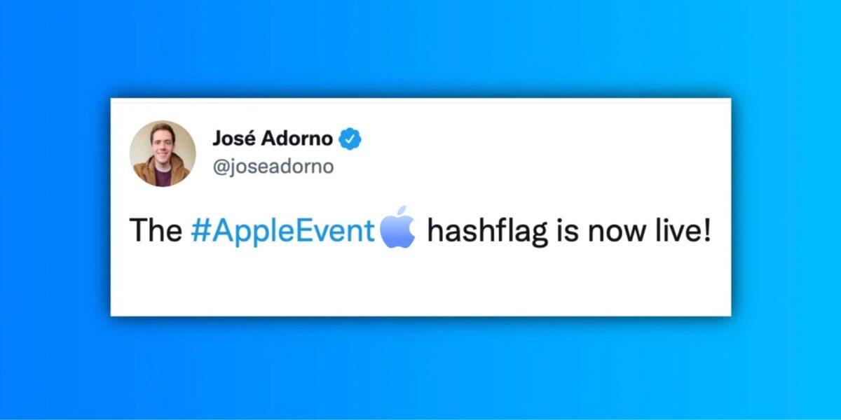 Apple запустила уникальный хэштег в Твиттере перед презентацией новых MacBook