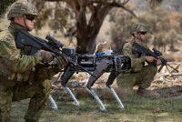 Компания Ghost Robotics показала шагающего робота с пулемётом для армии США