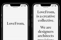 Джони Айв открыл сайт своей дизайнерской компании LoveFrom. Там только текст